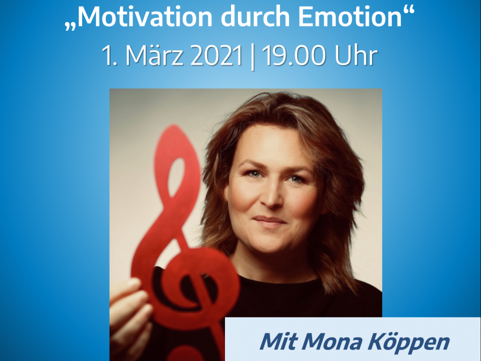 ONLINE-WORKSHOP Motivation durch Emotion